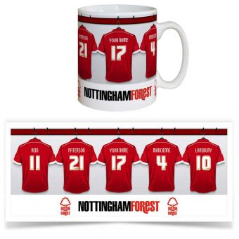 Nottingham Forest Dressing Room Mug