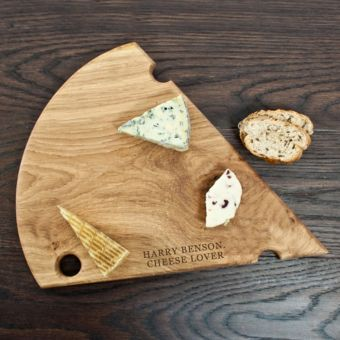Luxury Handmade Oak Cheese Platter