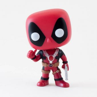 Marvel Thumbs Up Deadpool Pop! Vinyl