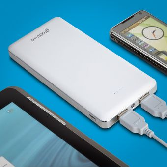 Portable Power Pack 12000mAh Dual USB Charger