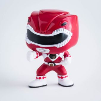 Red Power Ranger Pop Vinyl