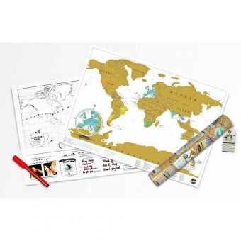 Scratch Map Travel Edition