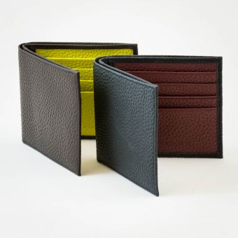 Smith & Canova Folding Leather Wallets