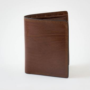 Smith & Canova Wallet/ID Case Brown
