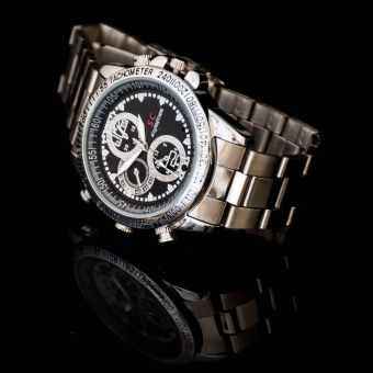 Stainless Steel Covert Watch Camera