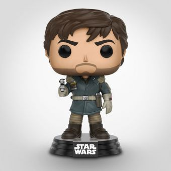 Star Wars Rogue One Cassian Andor Pop Vinyl