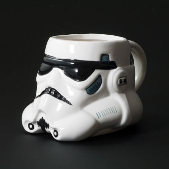 Storm Trooper Shaped Mug 1