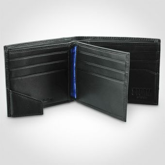 Storm Brompton Black Leather Wallet