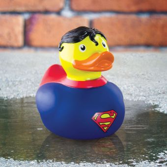 Superman Bath Duck 1