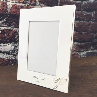 Personalised Tennis Photo Frame
