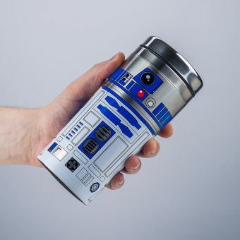 Star Wars The Last Jedi R2D2 Travel Mug