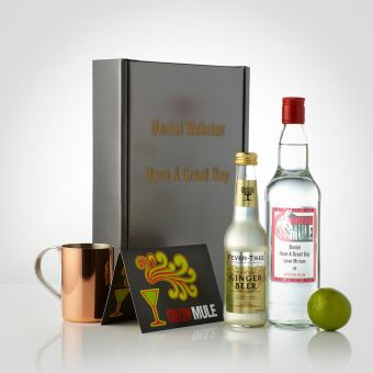 Personalised Vodka Mule Set