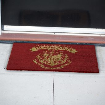 Harry Potter Welcome to Hogwarts Door Mat