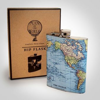 World Hip Flask