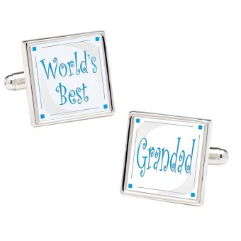 World's Best Grandad Novelty Cufflinks