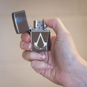 Zippo Assassins Creed Logo