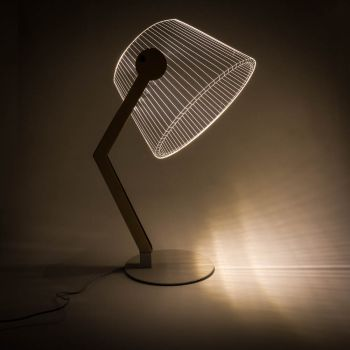 RED5 3D Table Lamp