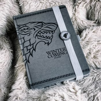 Game of Thrones Stark Notebook
