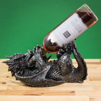 Guzzlers Dragon Wine Bottle Holder 0