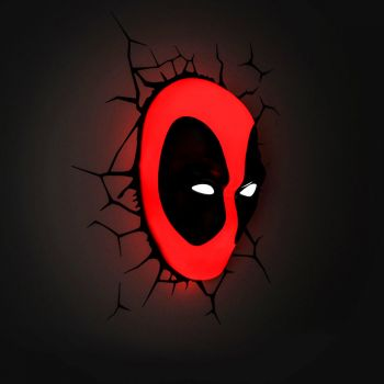 Marvel Deadpool 3D Deco Light