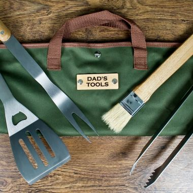 Personalised BBQ Tool Set 0