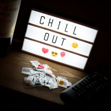 A6 Light Box Fridge Magnet