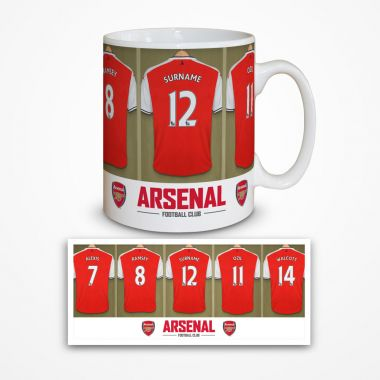 Dressing Room Mug (Arsenal)