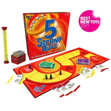 Five Second Rule Board Game