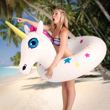 Gigantic Unicorn Pool Float