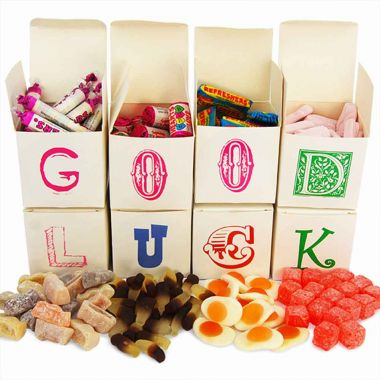 Personalised Sweet Words Gift Boxes