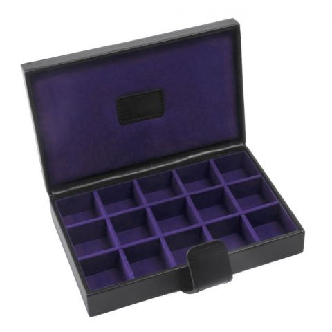 Cufflink Box Purple