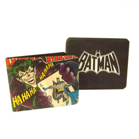 Vintage Batman Wallet In A Tin