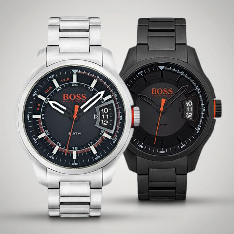Hugo Boss Stainless Steel Hong Kong Watches