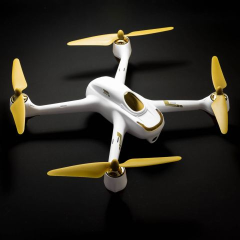 Hubsan X4 FPV Drone with GPS White