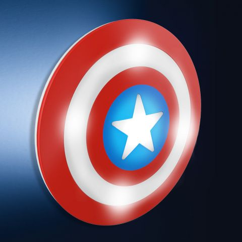 Captain America Shield Light