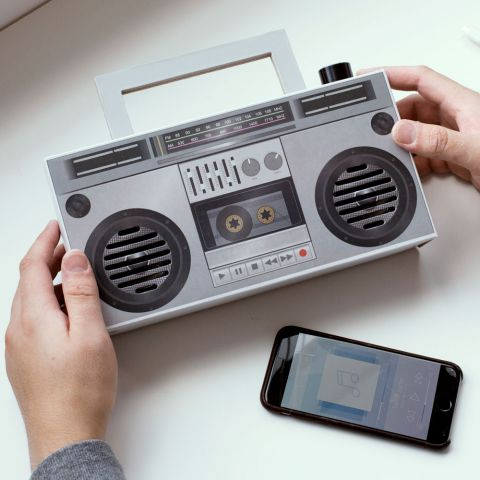 DIY Wireless Boombox