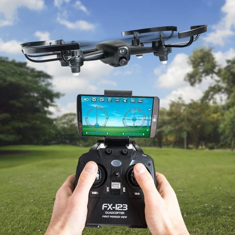 FX-123 Quadcopter - Black