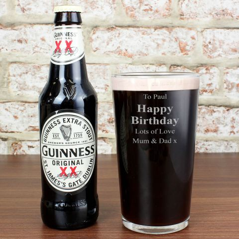 Personalised Guinness Gift Set