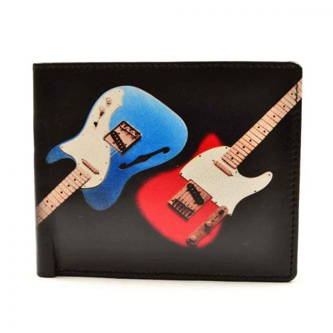 Guitars Bifold Wallet