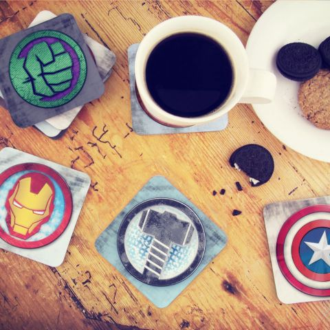 Marvel 3D Coasters 1