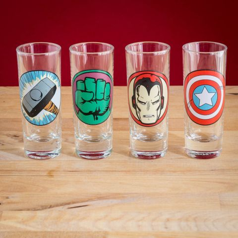 Marvel Shot Glasses
