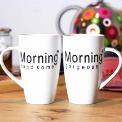 Morning Mug Set (His and Hers)