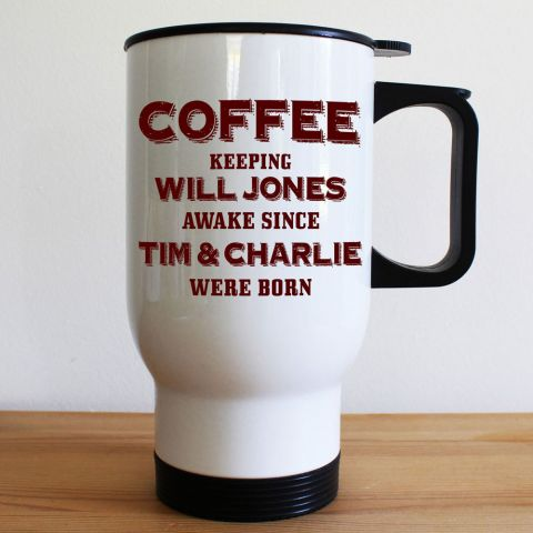 Personalised Keeping Dad Going Mug