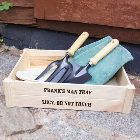 Personalised Man Tray