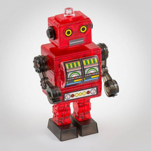 Crystal Puzzle Robot