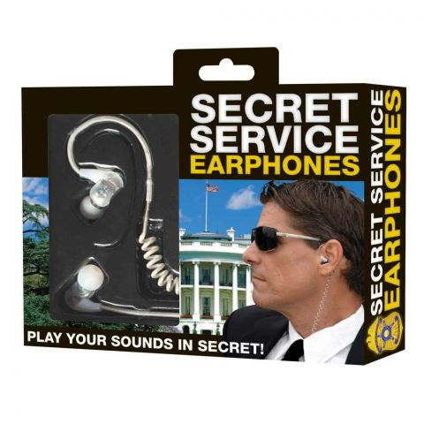 Secret Service Earphones