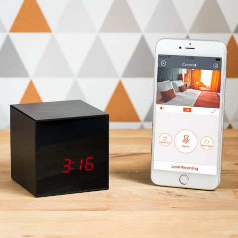 Spy Stream Alarm Clock