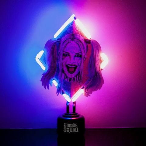 Suicide Squad Harley Quinn Neon Light