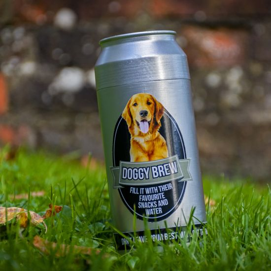Dog Brew Can