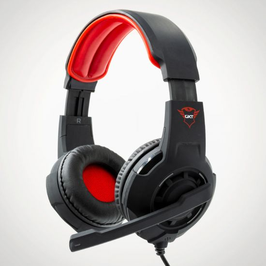 Trust GXT 310 Radius Gaming Headset - Grey Background